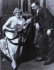 Maria Jeritza,Orville Harrold in Die tote Stadt New York