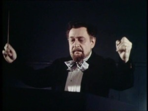 Korngold as Hans Richter in the film 'Magic Fire'