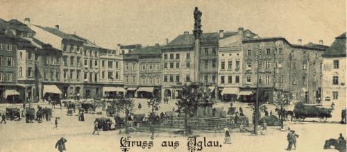 Mahler's home town of Iglau in Moravia