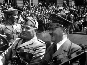 Hitler and Mussolini, Munich, June 1940