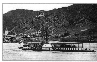 One of Fey's Danube steamships