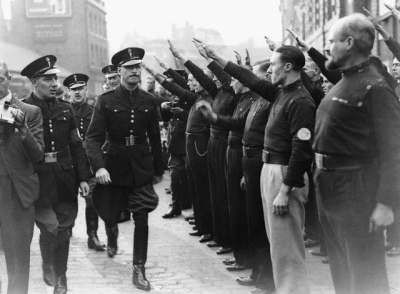 Oswald Mosley and British Union of Fascist (BUF)