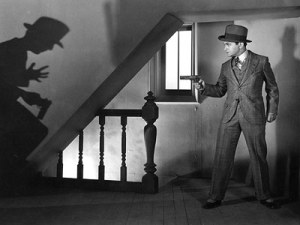 Edward G. Robinson joyously portrays the gangster Caesar Enrico Bandello in the 1931 classic, Little Caesar
