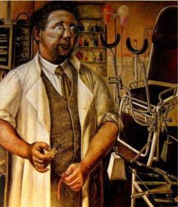 Hans Koch by Otto Dix