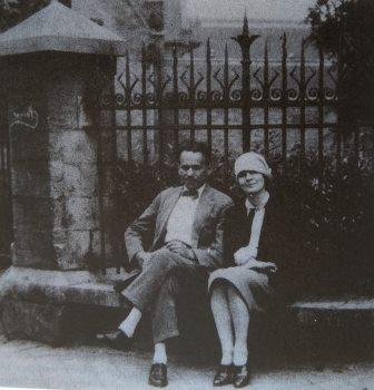 Karol and Gerta in Paris 1933