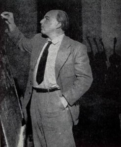 Ernst Krenek teaching in 1940