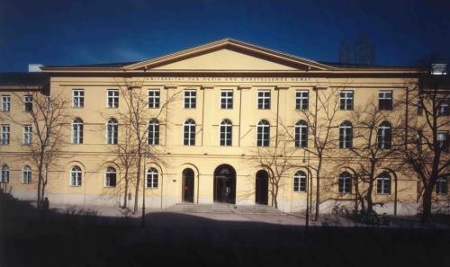 Main building of the MDW - Universität für Musik und Darstellende Kunst Wien