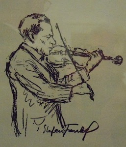 David Friedmann's drawing of Stefan Frankel