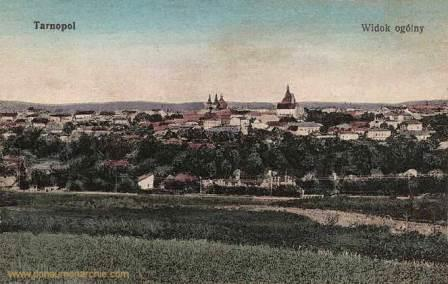 Postcard of Ternopol (spelled 'Tarnopol' in German) from 1900