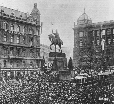 Czechoslovakia Oct. 28, 1918
