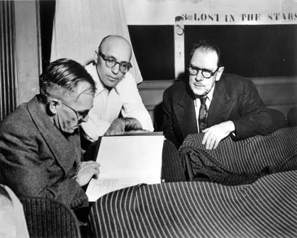 Alan Paton, kurt Weill and Maxwell Anderson