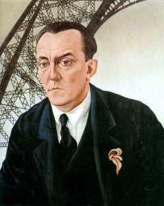 Christian Schad's portrait of Hauer
