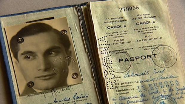 Passfoto Joseph Schmidt