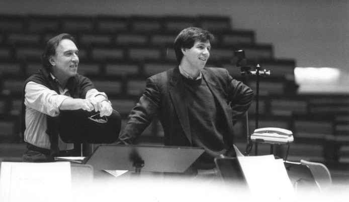 Working with Claudio Abbado in Berlin