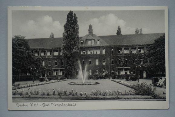 Jüdisches-Krankenhaus-Berlin-um-1930-Alte-Foto